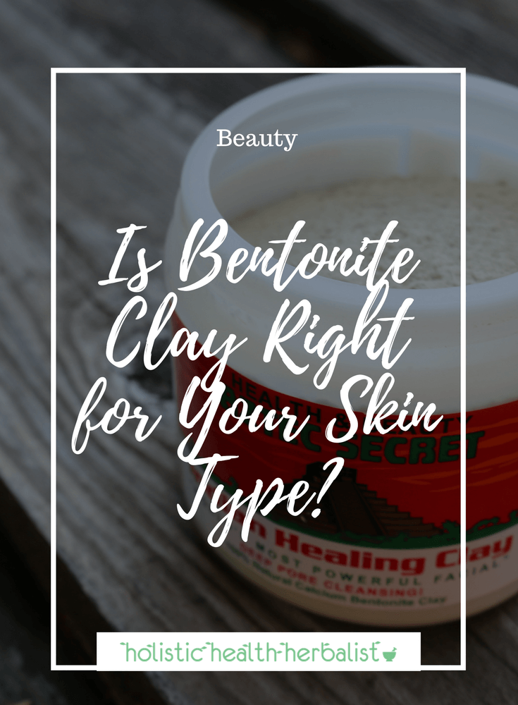 Is Bentonite Clay Right for Your Skin Type? - Learn about bentonite clay uses and bentonite clay benefits and how you can use it for acne prone skin to remove impurities and blackheads.