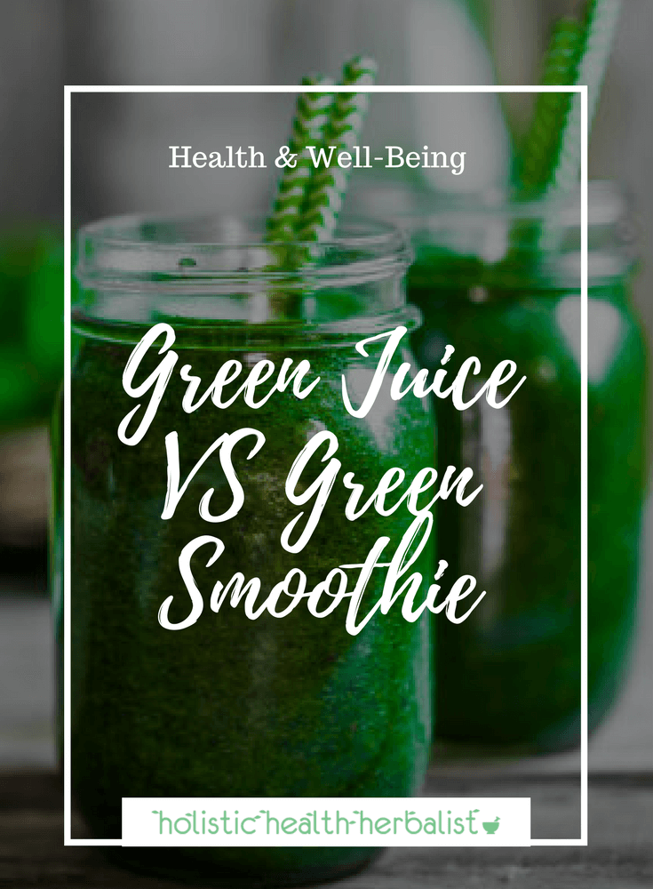 Green Juice VS Green Smoothie - Which is better? Find out what my thoughts are on each and when one is better for certain situations.