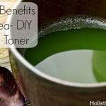 The Topical Benefits of Green Tea- DIY Green Tea Toner