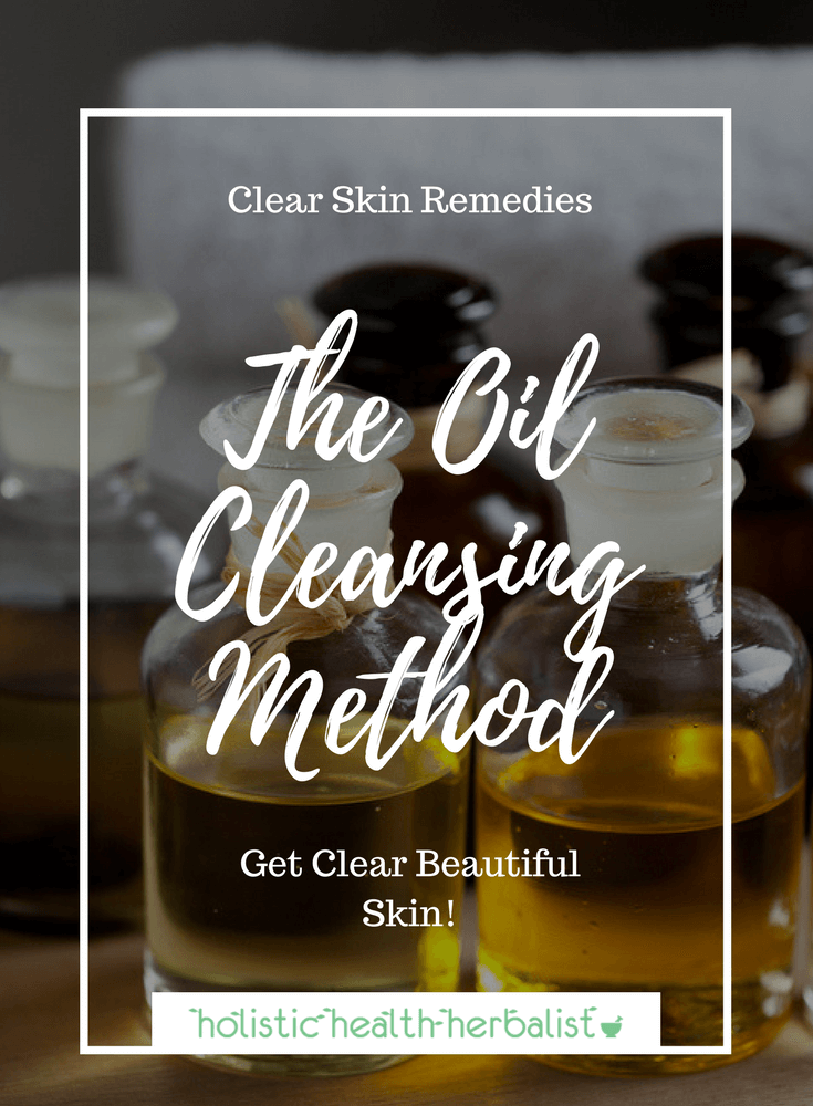 The Oil Cleansing Method - Learn how to use nourishing facial oils to cleanse and moisturize for clear acne free skin.