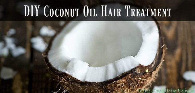 DIY Coconut Oil Hair Treatment