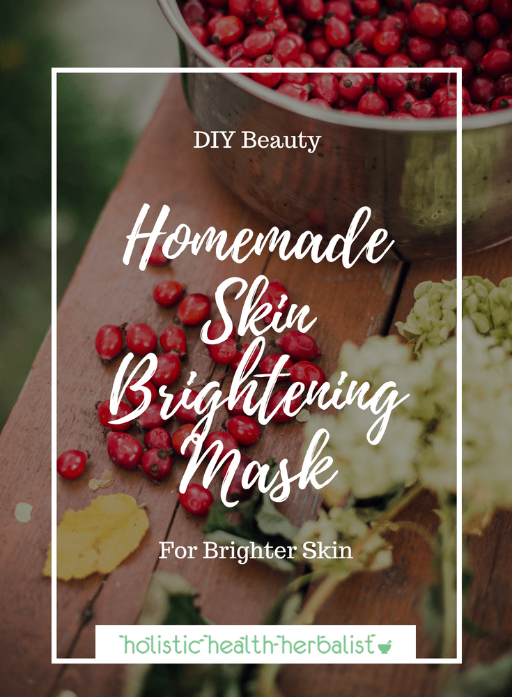 Homemade Skin Brightening Mask - Make this potent Vitamin C mask to brighten and even out skin tone and lighten hyperpigmentation.