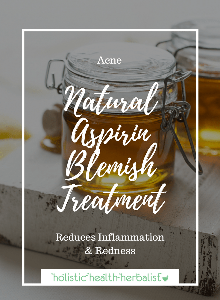 Natural Aspirin Blemish Treatment - Aspirin masks have been popular for years as an effective acne treatment. It's cheap, it's easy, and it's helped many control their breakouts