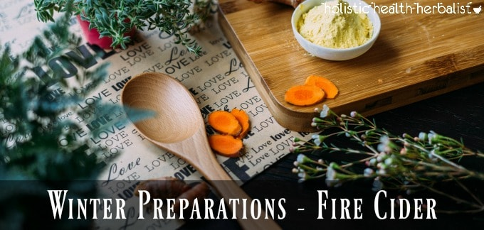 how to make fire cider for cold and flu
