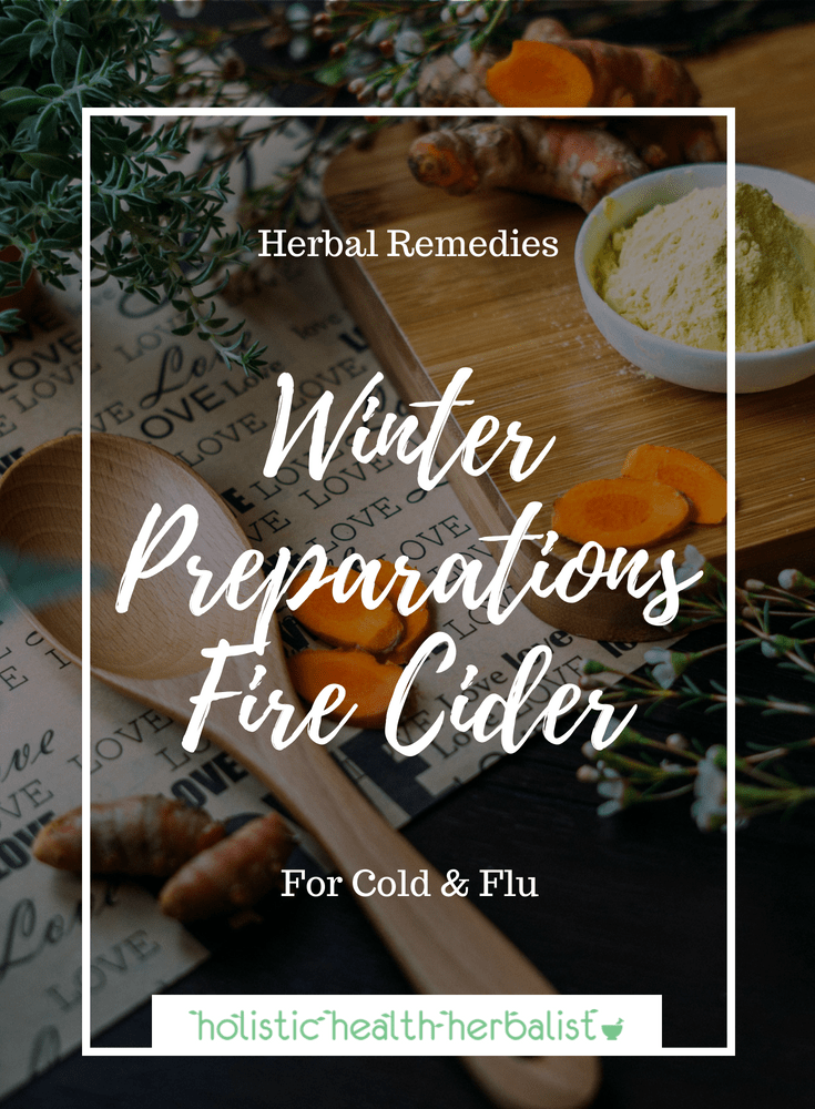 How to Make Fire Cider - Learn how to make a simple yet effective fire cider for treating and preventing cold and flu.