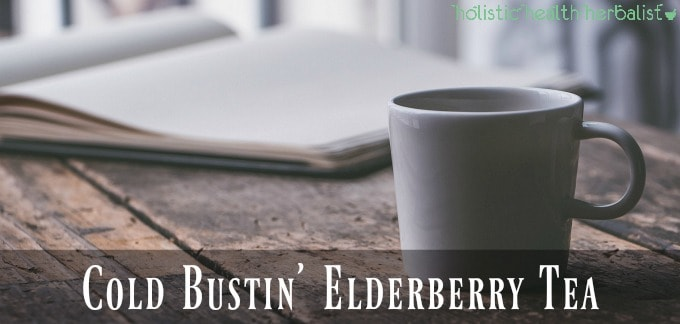 Cold Bustin' Elderberry Tea