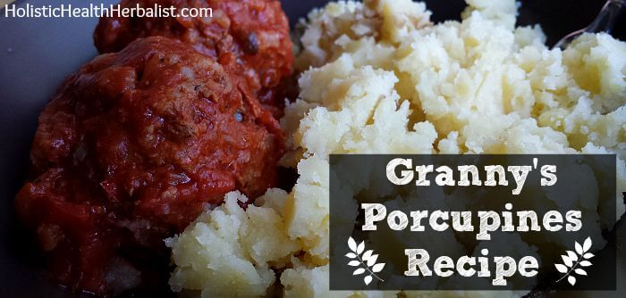 homemade porcupines recipe