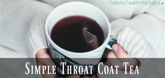 Simple Throat Coat Tea Recipe