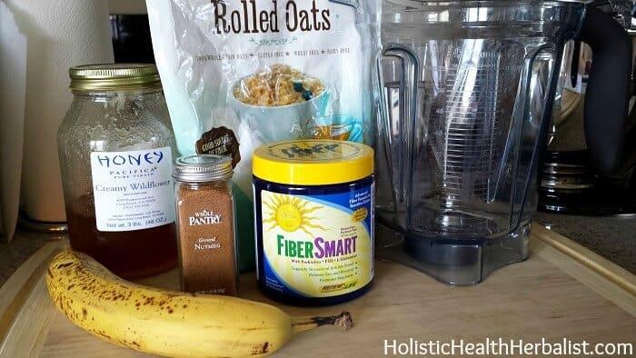 banana oatmeal cakes