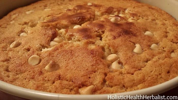 baked coconut custard cake