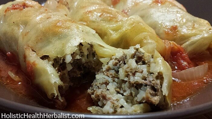 delicious stuffed cabbage leaves recipe