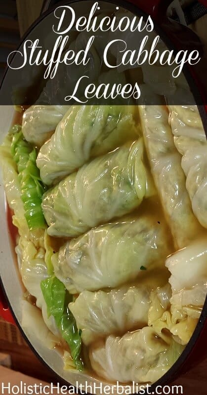 Stuffed Cabbage Roll Recipe - Learn how to make my amazing stuffed cabbage rolls using fresh all natural ingredients!
