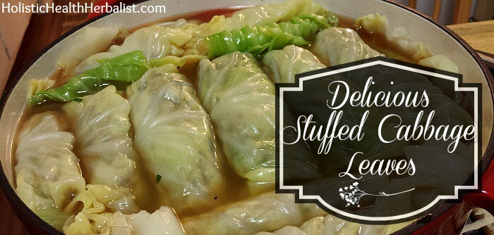 How to make stuffed cabbage leaves!