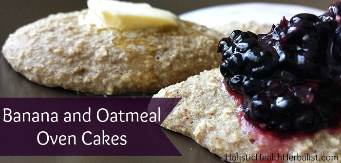 banana oatmeal cakes recipe