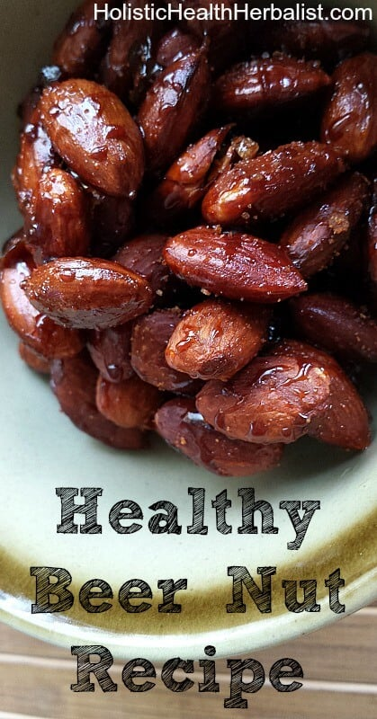 Healthy Beer Nut Recipe - You can make any snack from the store into a healthier version, even snack for the super bowl!