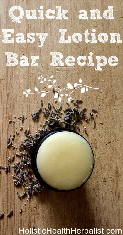 Quick and Easy Lotion Bar Recipe - Learn how to make a lotion bar that keeps skin soft, supple, and moisturized all year long using simple yet effective ingredients.