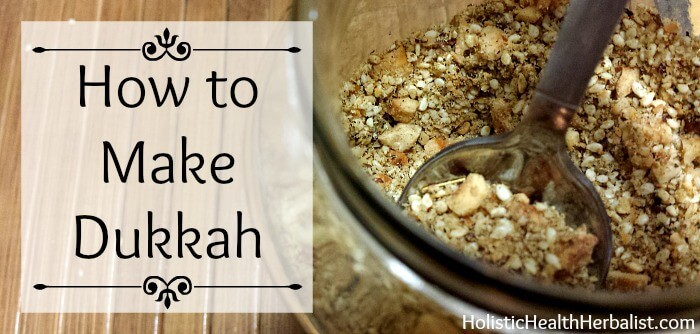 How to make Dukkah at home.