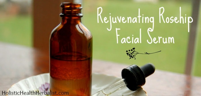 Rejuvenating Rosehip Facial Serum for face and neck.