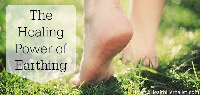 The healing power of earthing and how to earth.