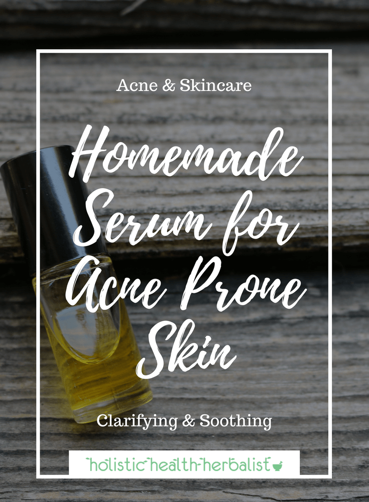Serum for Acne Prone Skin - This serum is perfect for healing blemishes, reducing redness, and lightening hyperpigmentation that acne leaves behind.