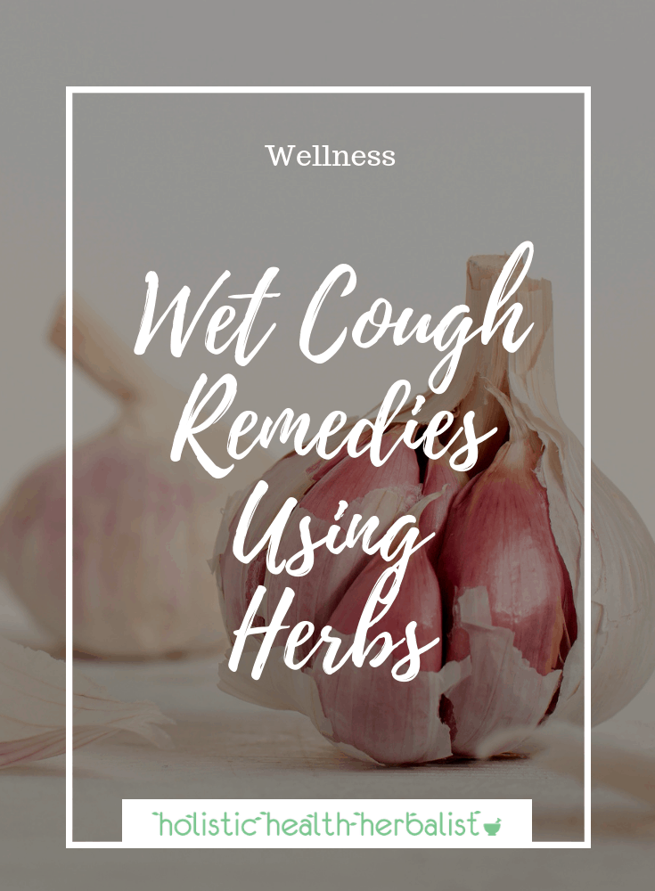 Wet Cough Treatment Using Herbs - Photo of garlic bulbs