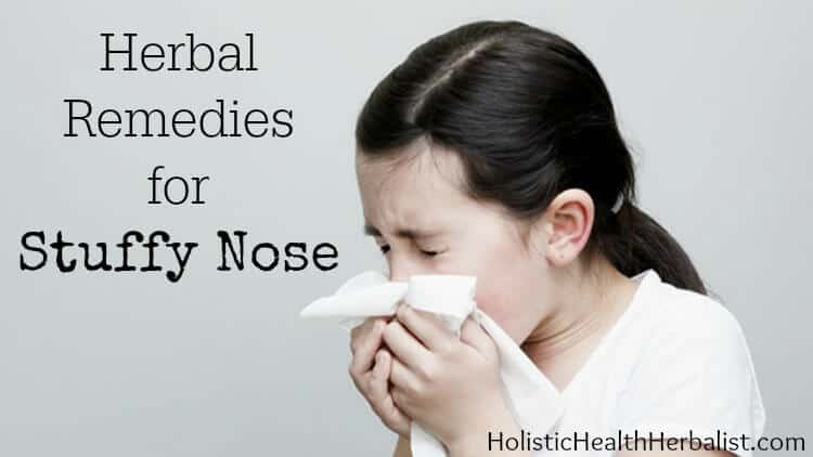 how to stop a stuffy nose