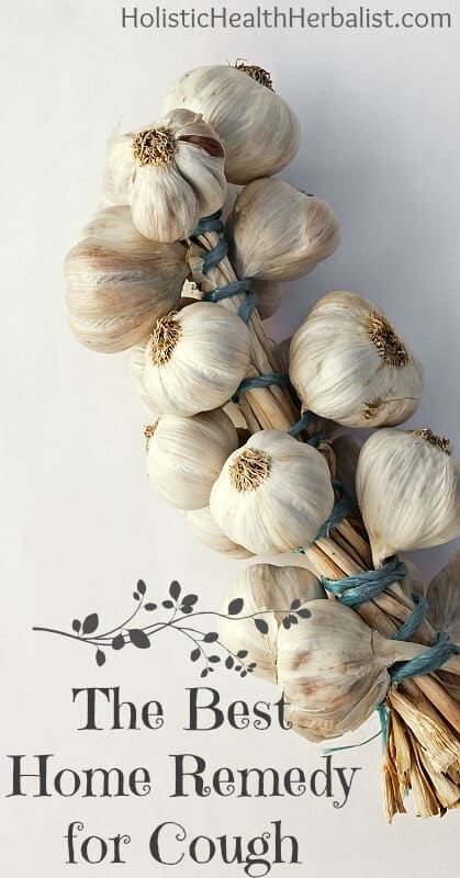 The Best Home Remedy for Cough - Learn about the healing power of garlic and how you can make a simple remedy that gets rid of it fast!