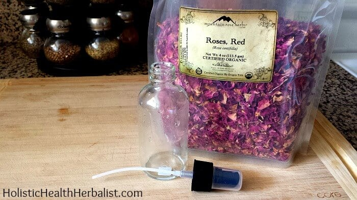 How to Make Rose Water 2