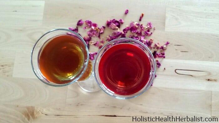 Raspberry rose liqueur 17