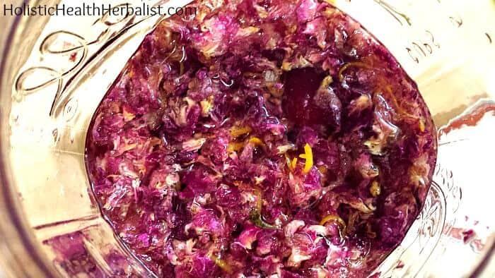 Raspberry Rose Liqueur 5