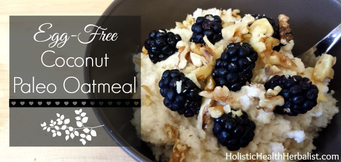 paleo oatmeal how to