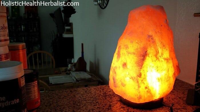 Do Salt Lamps Evaporate : The Benefits of Himalayan Salt Lamps - Holistic Health Herbalist