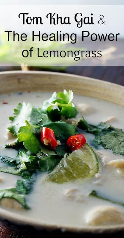 Tom Kha Gai and The Healing Power of Lemongrass - Learn how to make a delicious tom kha gai soup at home with fresh and natural ingredients.