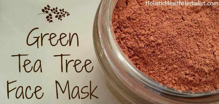 Simple DIY Green Tea Tree Face Mask