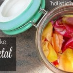 How to Make Rose Petal Honey