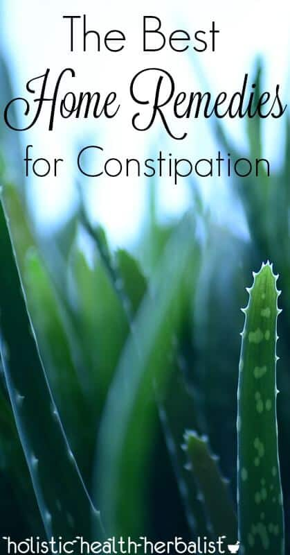 The Best Home Remedies for Constipation - Learn about the best remedies for relieving constipation naturally!