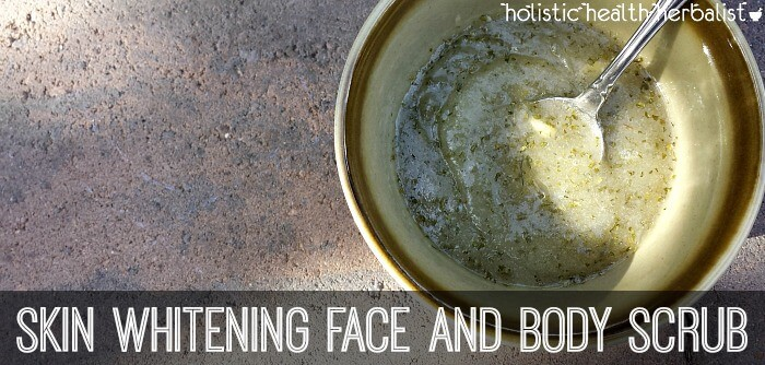 quick and easy Skin Whitening Face and Body Scrub