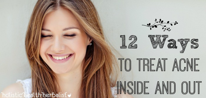 how to treat acne from the inside out