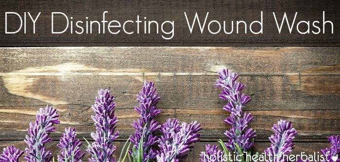 simple Disinfecting Wound Wash recipe