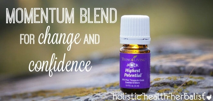 momentum essential oil blend