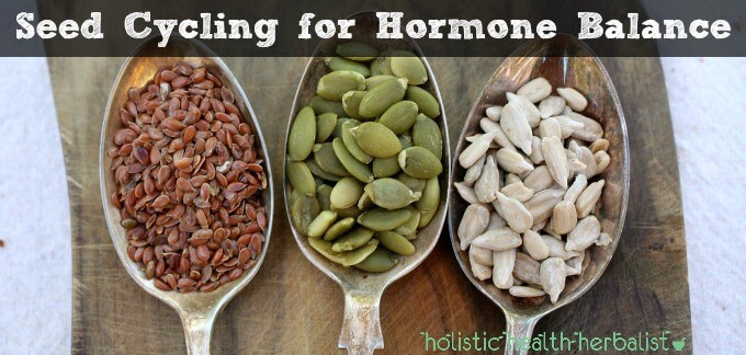 Seed Cycling for hormonal balance naturally.