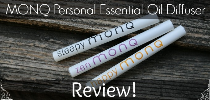 MONQ personal aromatherapy diffusers