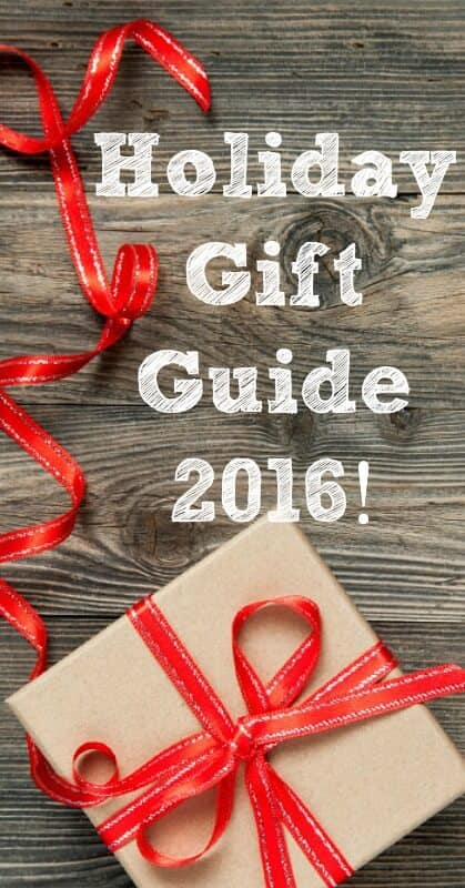 Holiday Gift Guide 2016! - Check out my top picks for everyone on your Christmas list this year!