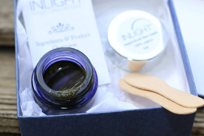 Inlight superfood mask.