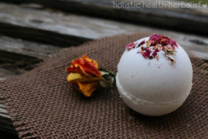Rose Milk Bath Bomb recipe