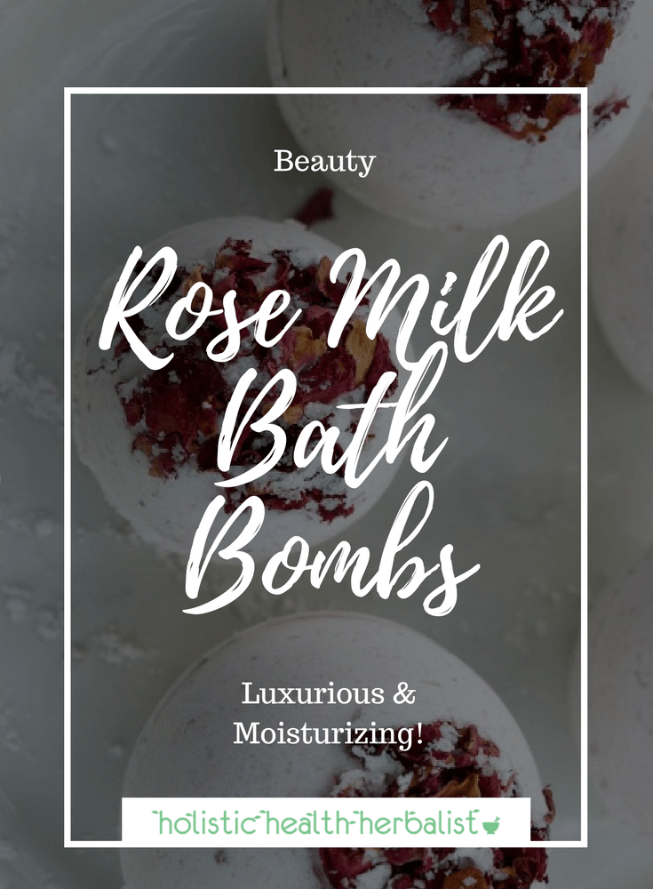 Rose Milk Bath Bombs - Enjoy a romantic bath using these luxuriant rose infused milky bath bombs.