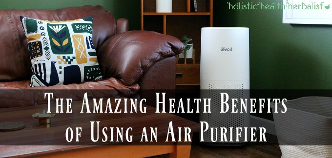photo of my favorite home air purifier