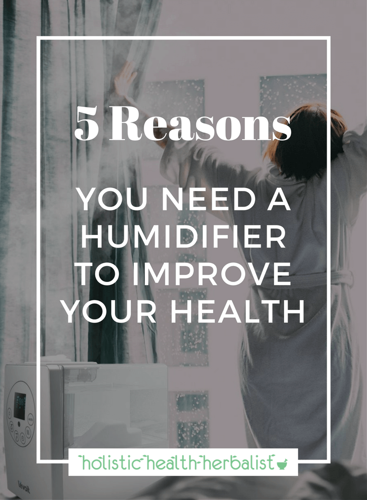 5 Reasons You Need a Humidifier to Improve Your Health - Learn how to fight off colds and flu, sinusitis, asthma, dry cough, and other respiratory ailments using a humidifier. #humidifier