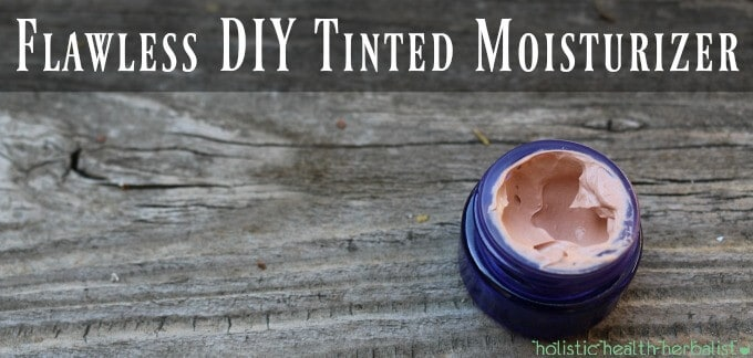 Flawless DIY Tinted Moisturizer