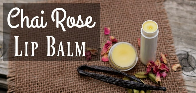 Chai Rose Lip Balm